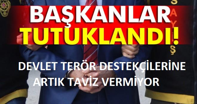 Bitlis ve Güroymak belediye başkanları tutuklandı