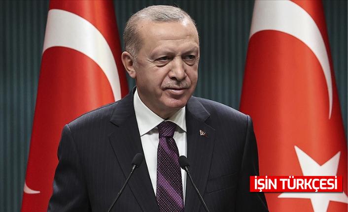 Cumhurbaşkanı Erdoğan, Telegram'dan paylaşımda bulundu