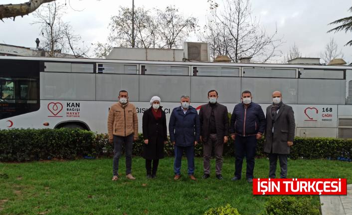 MHP Akyazı : ''KIZILAY'ımızın Destekçisi ve Gönüllüsüyüz.''