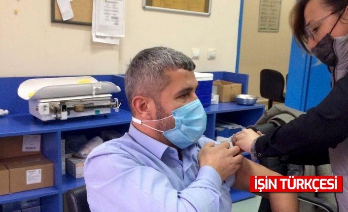 SBB Tıp Merkezi sağlık çalışanları CoronaVac aşısı oldu