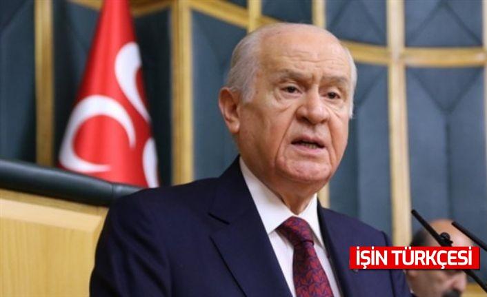 """Bahçeli: """"Türkiye'nin boğazını sıkmak isteyen provokatörler Boğaziçi'ne tutunmanın arayışındadır"""""""