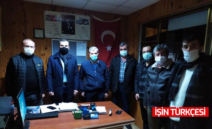 MHP'DEN TAŞLIK'A ZİYARET