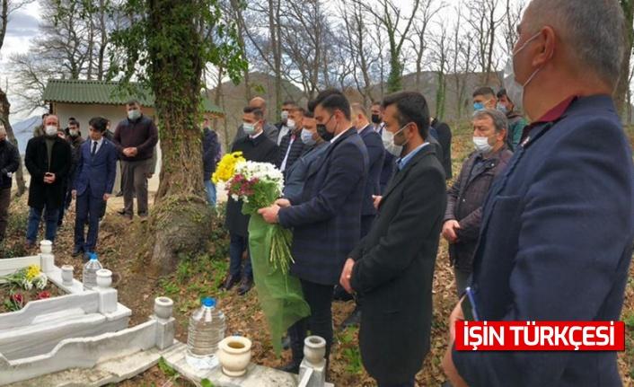 Şehit Adem Tamay kabri başında ziyaret edilip, dualarla yâd edildi