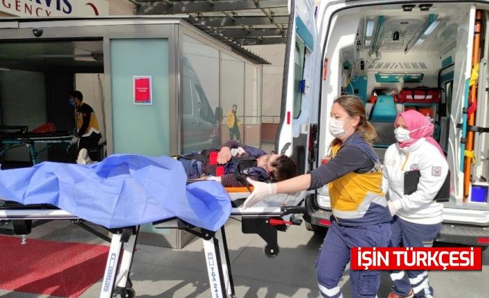 10 yaşındaki çocuk tüfekten çıkan saçma ile yaralandı