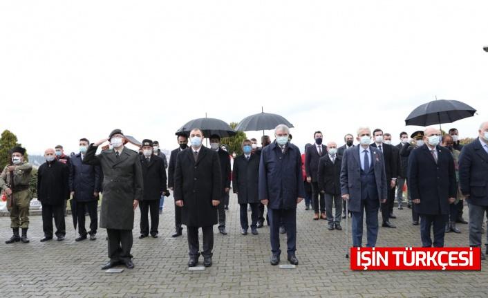18 Mart Çanakkale Zaferi ve Şehitleri Anma Günü Münasebetiyle Sakarya'da Anma Törenleri Düzenlendi