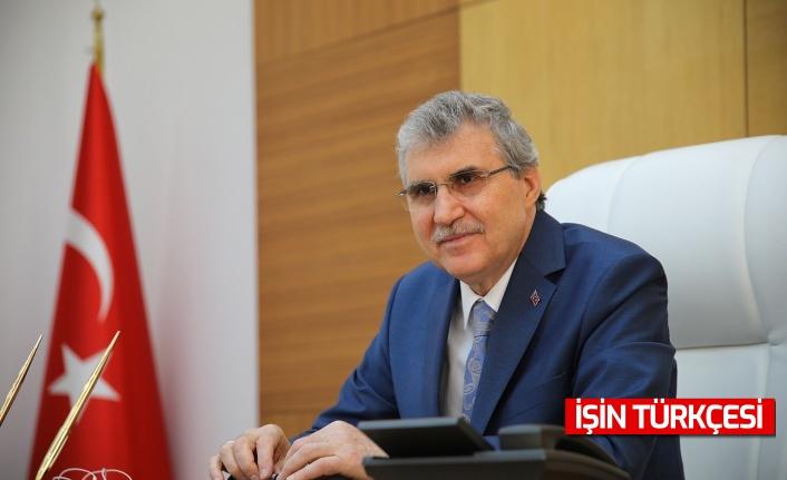 """Başkan Ekrem Yüce'den """"12 Mart İstiklal Marşının Kabulünün 100. Yıl Dönümü"""" Mesajı"""