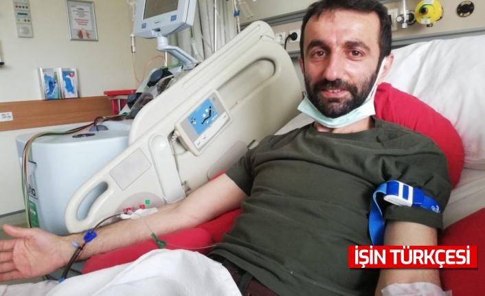 Başkan Münir Ali Kara Kök Hücre Nakli Bağışı Yaptı