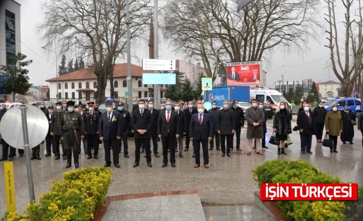 Hendek'te Çanakkale Zaferinin 106.Yılı İçin Tören Düzenlendi