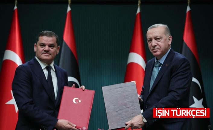 Türkiye ile Libya Arasında 5 Anlaşma İmzalandı