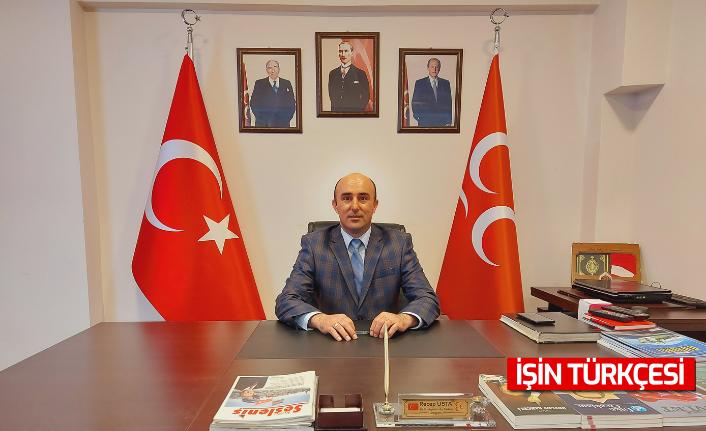 """MHP Adapazarı İlçe Başkanı Recep Usta: """"Gazi meclisimizin varlığı milletimizin egemenlik nişanesidir"""""""
