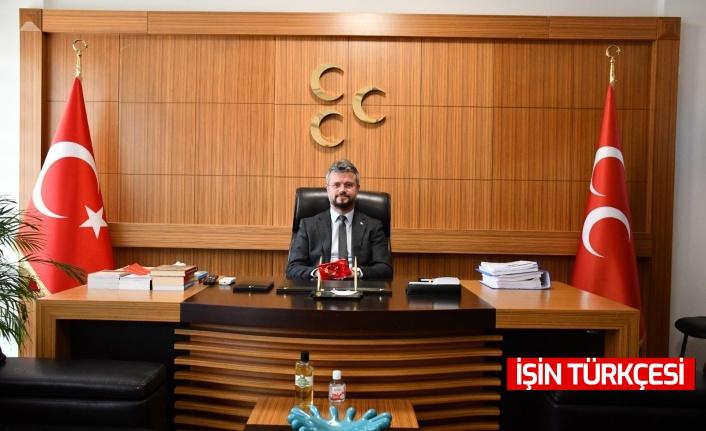 """MHP Sakarya İl Başkanı Akar: """"Milli irademize kast eden bir anlayışı dile getiren ve destekçisi olan gafilleri şiddetle kınıyorum"""""""
