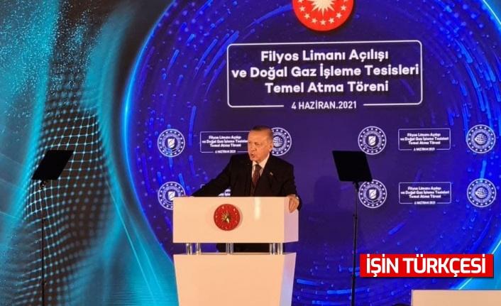 Cumhurbaşkanı Erdoğan'dan 135 milyar metreküplük doğalgaz müjdesi