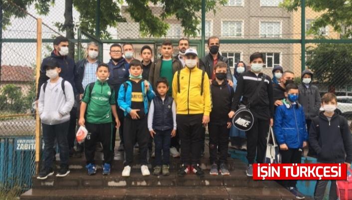 Hendek Belediyesi Güreş Takımı Antalya'da