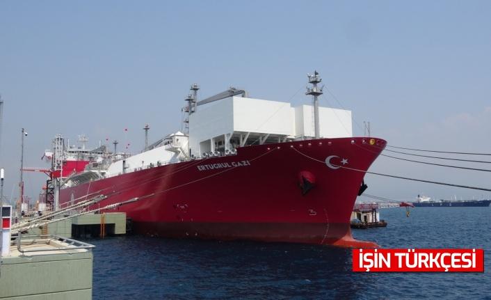 Türkiye'de bir ilk... FSRU gemisi Ertuğrul Gazi devreye alınıyor
