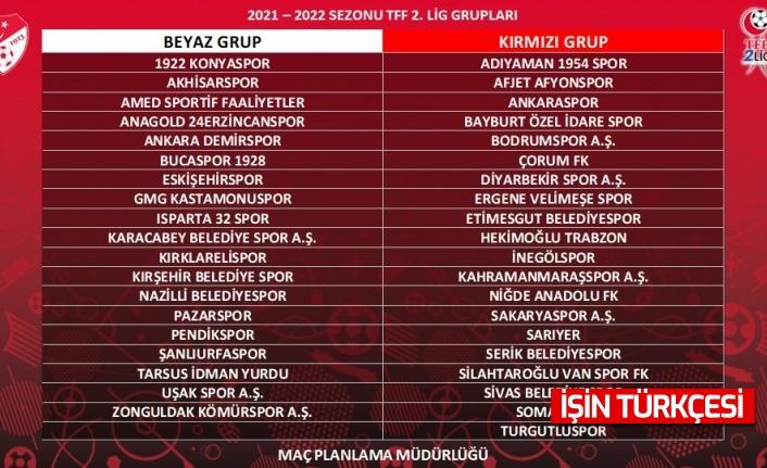 2.Lig'de kuralar çekildi, Sakaraspor'un rakipleri belli oldu