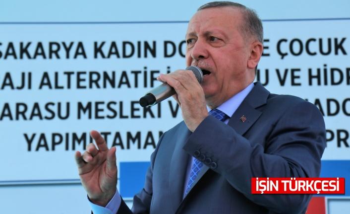 Cumhurbaşkanı Erdoğan Sakarya'ya yatırımları sıraladı