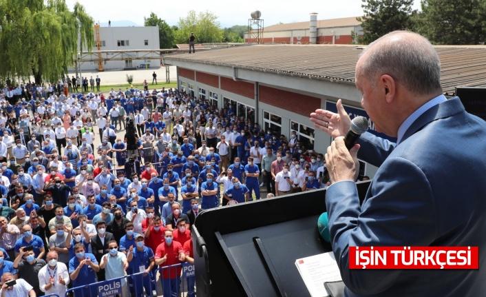 Cumhurbaşkanı Erdoğan'dan Altay müjdesi