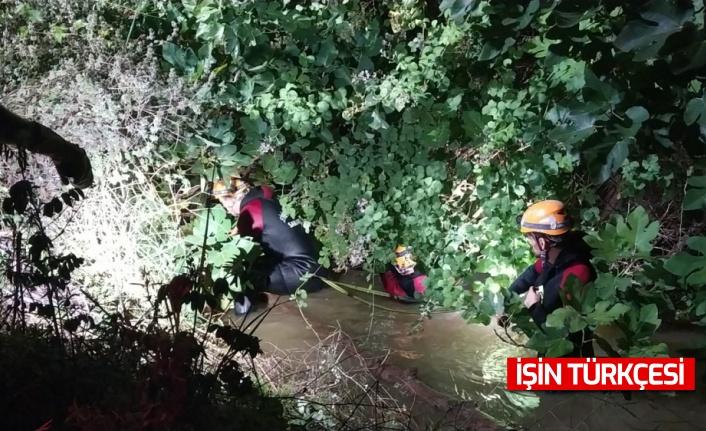Sakarya'da sulama kanalına düşen çocuğun cansız bedenine ulaşıldı
