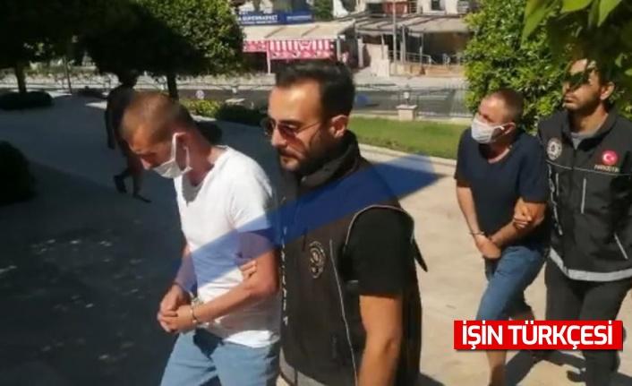 Marmaris'te Sakarya'dan gelen zehir tacirleri tutuklandı