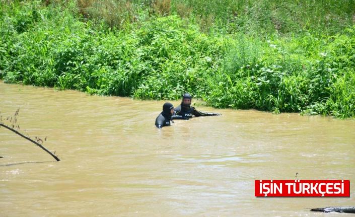 Sakarya Nehri'nde kaybolan genci arama çalışmaları sürüyor