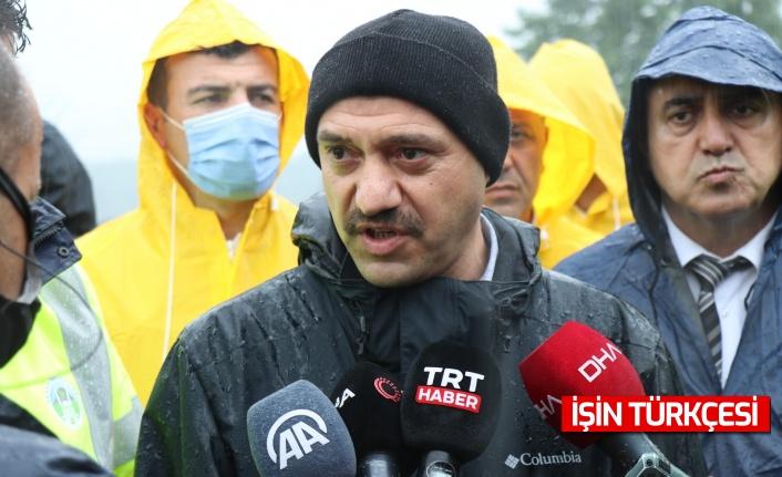 """Sakarya Valisi Kaldırım: """"Cumartesiden bu yana 100'ü aşkın vatandaşımızın tahliyesini gerçekleştirdik"""""""