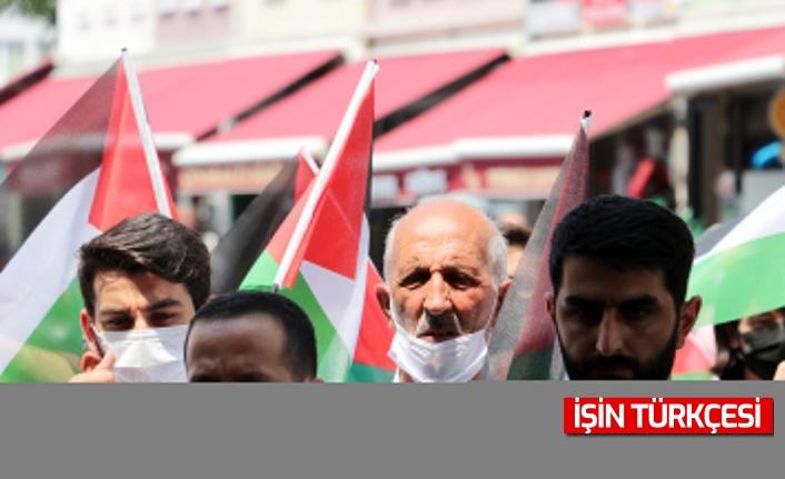 Sakarya ve Bolu'daki sivil toplum kuruluşları, İsrail'in Mescid-i Aksa'daki politikalarına karşı tepkilerini gösterdi!
