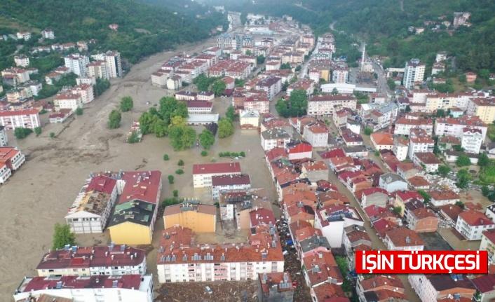 AFAD açıkladı: ''Kastamonu'da sel sularına kapılan 4 kişi hayatını kaybetti.''