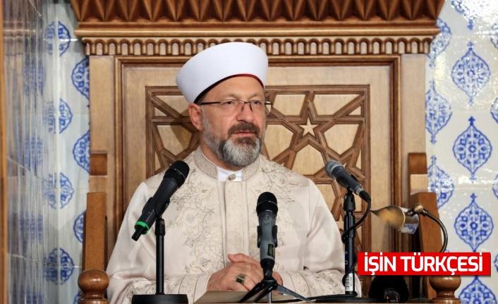 Ali Erbaş: Müslümanların arasına fitne tohumu ekmeye çalışanlar var