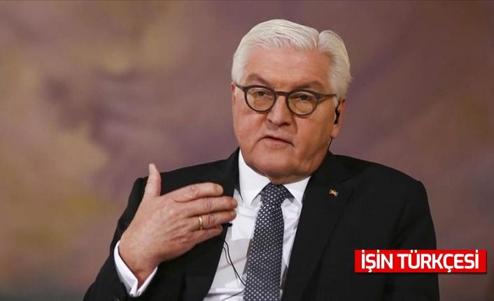 Almanya Cumhurbaşkanı Steinmeier, Kabil'den gelen görüntüler Batı için utanç verici olduğunu belirtti