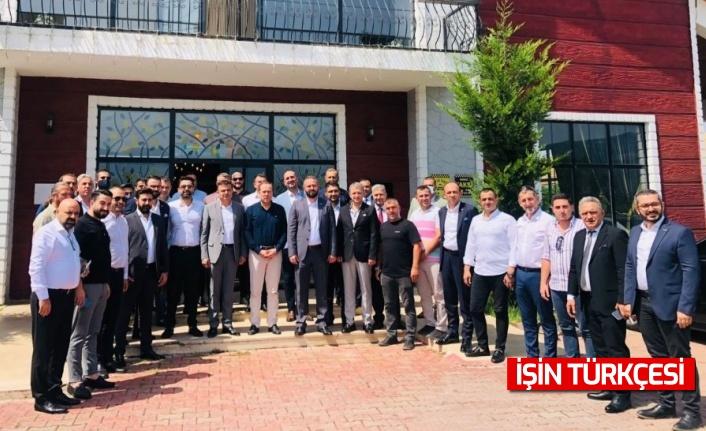 ASKON Gaziantep Sakarya'da! İşadamları Sakarya'yı ziyaret etti