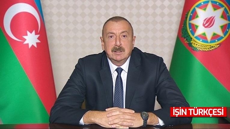 """Azerbaycan Cumhurbaşkanı İlham Aliyev: """"İşgal sırasında Ermeniler doğal kaynaklarımızı yağmaladı."""""""