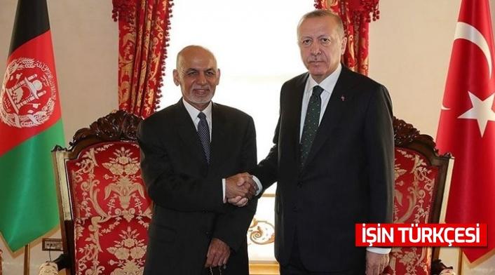 Cumhurbaşkanı Erdoğan, Afganistan Cumhurbaşkanı ile telefon görüşmesi gerçekleştirdi
