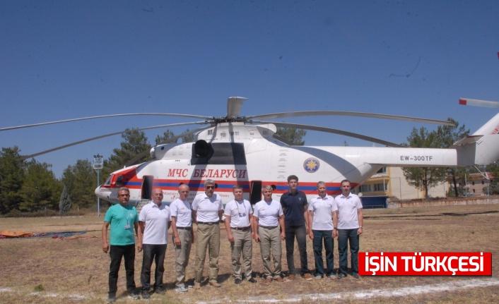 Dünyanın en büyük yangın söndürme helikopteri Muğla'da nöbette!