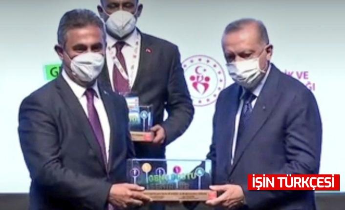 Erdoğan'dan Mamak Belediye Başkanı Murat Köse'ye gençlik ödülü