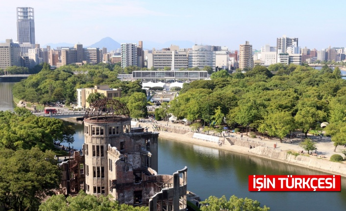Hiroşima'da atom bombası saldırısının 76. yılında kurbanlar anıldı