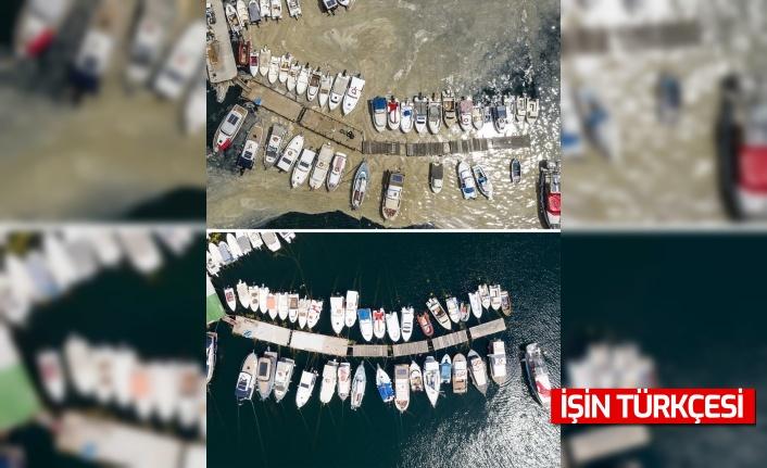 İstanbul sahilleri Marttan itibaren görülen müsilajdan arındırıldı