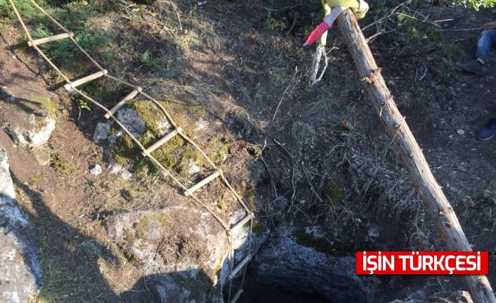 Bolu'da izinsiz kazı yapan kişi 8 kişi suçüstü yakalandı