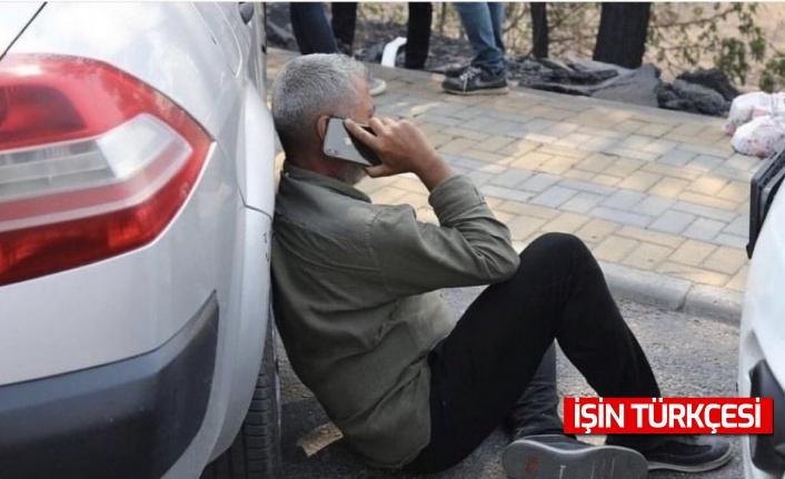Yangın Belediye Başkanı Şükrü Sözen'in evini pas geçti