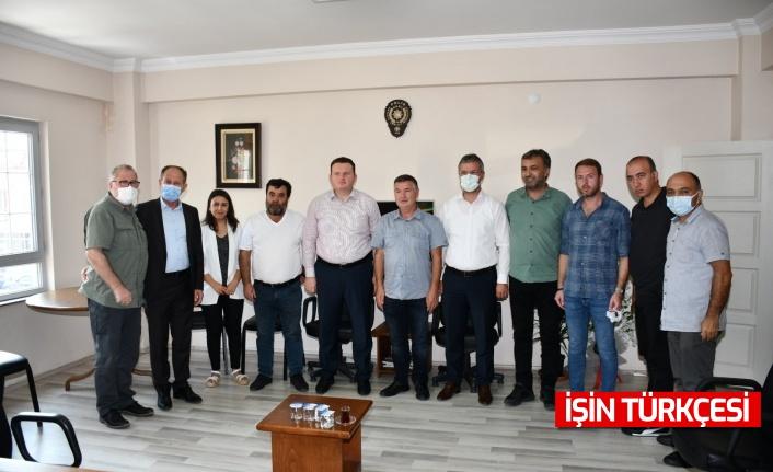 MHP Grup Başkanvekili Muhammed Levent Bülbül ve İl Başkanı Ahmet Ziya Akar'dan Sakarya Gazeteciler Cemiyeti'ne ziyaret