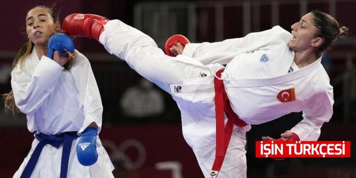Olimpiyatlarda yarışan karateci milli sporcumuz Merve Çoban, yarı finale yükseldi!