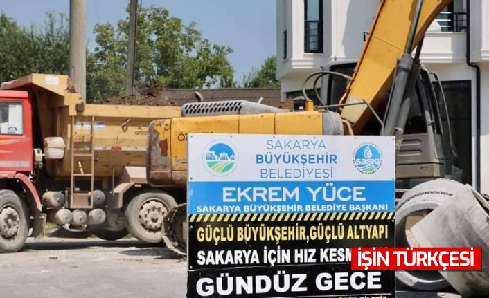 Pamukova Pınarlı'ya yeni içmesuyu hattı