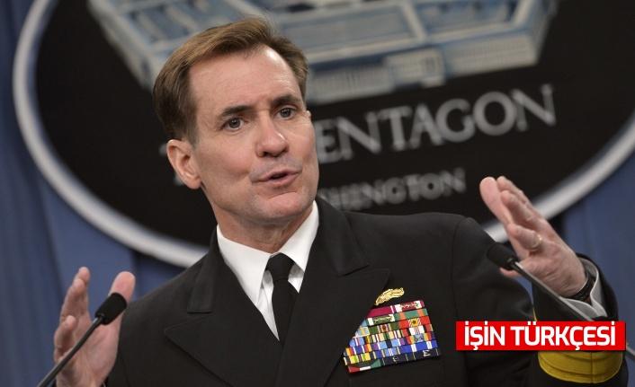 """Pentagon sözcüsü  Kirby açıkladı: """"Afganistan'daki tahliyelere yardımcı olması için gönderilen 3 tabur yola çıktı.''"""