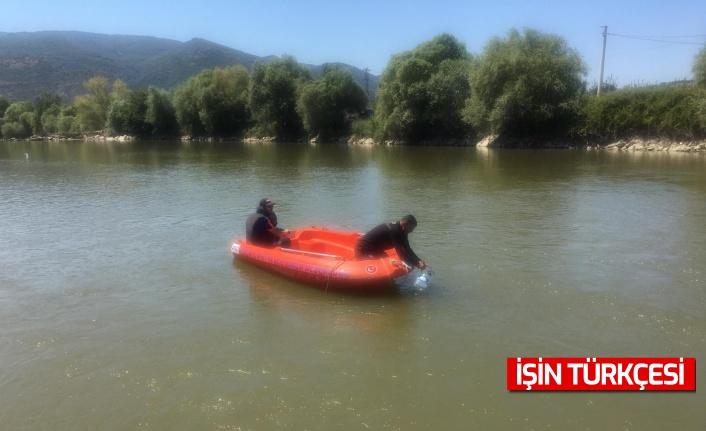 Sakarya Nehri'nde kaybolan genç ikinci günde de bulunamadı