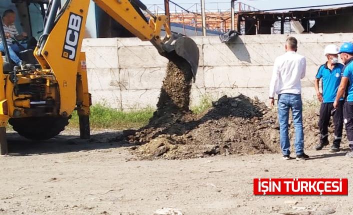 Sakarya'da yağmur suyu kanalına atık boşaltan iş yerleri hakkında işlem başlatıldı