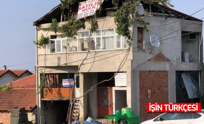 Serdivan'da miras paylaşımı yüzünden tartışma yaşayan vatandaş 50 senedir yaşadığı yeri terk etti