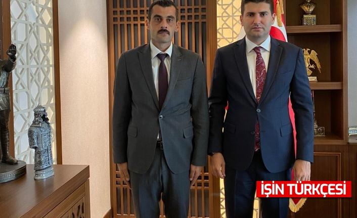 Soyhan Sofuoğlu'ndan Ahmet Yiğit Yıldırım'a ziyaret!