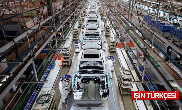Toyota'da üretime çip krizi sebebiyle ara verildi