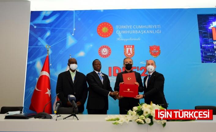 Türkiye ile Ekvator Ginesi arasında Savunma Sanayiinde İşbirliği Anlaşması İmzalandı