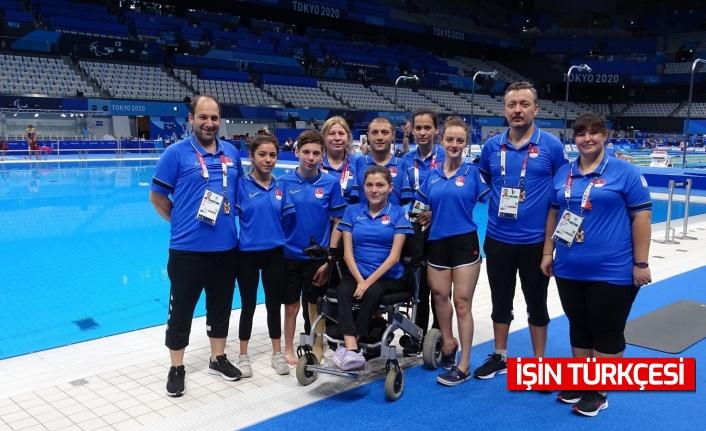 Türkiye, yüzme karışık serbest 4x50 metre bayrak yarışı S5 kategorisinde finalde