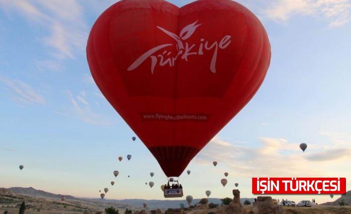 Türkiye'nin ilk özel şekilli balonları Kapodokya'da üretildi